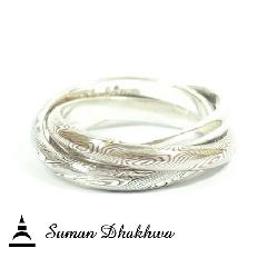 Suman Dhakhwa SD-R23S Triple Combination Ring