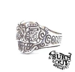 BURNOUT Mexican Skull Ring