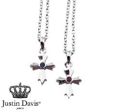 Justin Davis snj435/Ruby,Sap AMULET Necklace STOCK
