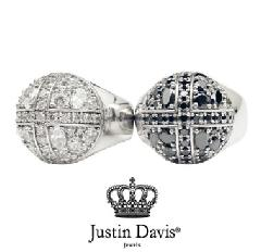 Justin Davis srj284 Stardust Cross Ring STOCK