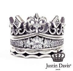 Justin Davis srj600 KING & QUEEN ring