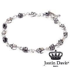 Justin Davis sbj126 Skull Divine Bracelet