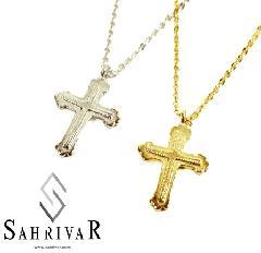 SAHRIVAR sn22s11a Small Cross Necklace