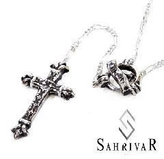 SAHRIVAR sn47s13a Droop Rosary Silver