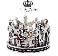 Justin Davis srj440 GRAVE CROSS Ring