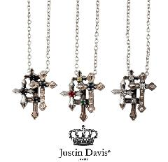 Justin Davis snj440 GRAVE CROSS Necklace