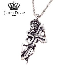 Justin Davis snj439 LAFITTE SKULL Necklace