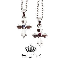 Justin Davis snj435/Ruby,Sap AMULET Necklace