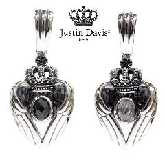 Justin Davis spj582 VENUS FEATHER pendant