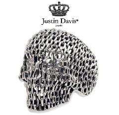 Justin Davis srj431 CHAIN CRANIUM RING