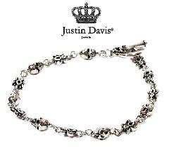 Justin Davis sbj127 Skull endear bracelet