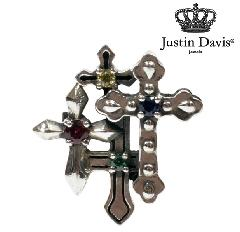 Justin Davis sej440 GRAVE CROSS Earring