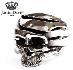 Justin Davis srj481 DISSECTION SKULL Ring STOCK