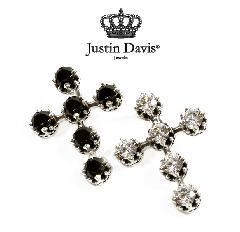 Justin Davis spj487 DEBUTANT CROSS Pendant STOCK