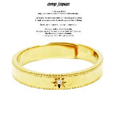 amp japan MRAD-001 Marriage Milgrain Ring