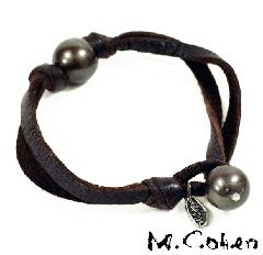 M.Cohen Black Pearl Single Bracelet