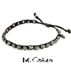 M.Cohen B860ーS SKULL SILVER Bracelet