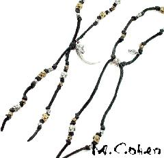 M.Cohen  N611 Mix SKULL Necklace