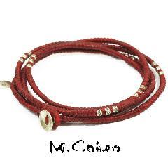 M.Cohen B582-S/RED CODE Bracelet