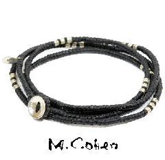 M.Cohen B582-S/BLACK CODE Bracelet