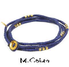 M.Cohen B582-G/BLUE CODE Bracelet