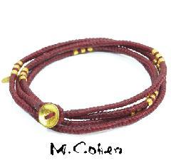 M.Cohen B582-G/RED CODE Bracelet