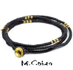 M.Cohen B582-G/BLACK CODE Bracelet