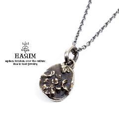 HARIM HRP012SV ancient flower pendant