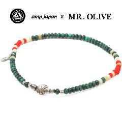 amp japan x Mr.Olive M-4133/TURxWH Anklet