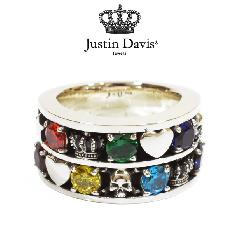 Justin Davis srj580 DUO CHARM ring
