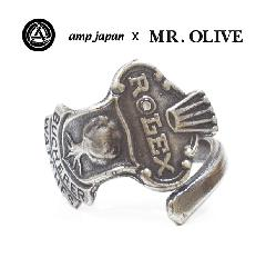 amp japan x Mr.Olive M-3429 spoon ring-rolex-