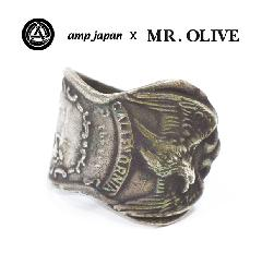 amp japan x Mr.Olive M-4135 spoon ring-CALIFORNIA-