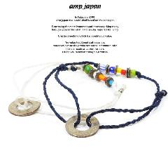amp japan 14ahk-421 10cent waxed cord anklet