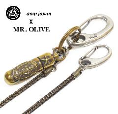 amp japan x Mr.Olive 14mod-600 Mary Pill Case Wallet Chain