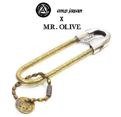 amp japan x Mr.Olive 14moh-800 Large Pin -Brass-