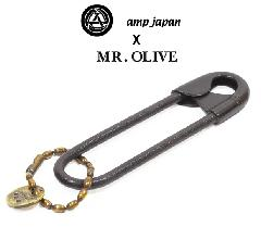 amp japan x Mr.Olive 14moh-801 Large Pin -Black-