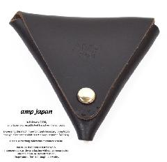 amp japan 14an-810 chromexcel coin purse