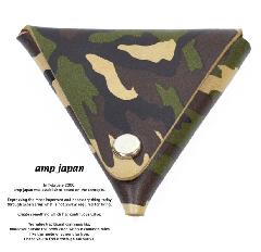 amp japan 14an-811 camouflage coin purse