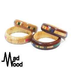 Mad Wood Channel Ring #2
