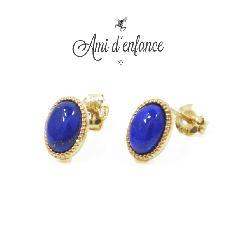 """Ami d'enfance AA1001-140017 """"Various Pierce"""" Lapis"""