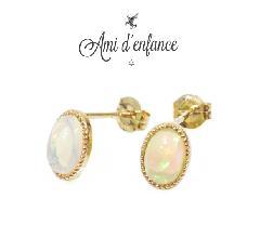 """Ami d'enfance AA1001-140015 """"Various Pierce"""" Opal"""