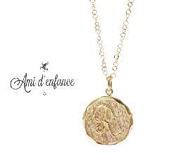 "Ami d'enfance AA1001-140020 ""REDA"" Necklace"