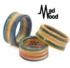 Mad Wood Border Ring #2