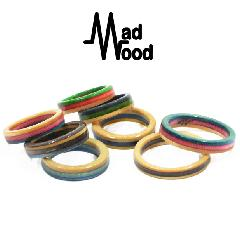 Mad Wood Border Ring #3
