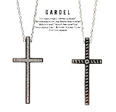 GARDEL gdp085 TWO,ME CROSS NECKLACE
