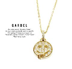GARDEL gdp084 K18G KAKIA NECKLACE
