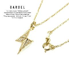 GARDEL gdp086 K18YG ALLUMAGE NECKLACE