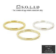 S.O.L.I.D SRK-1 round K10 gold
