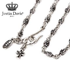 Justin Davis snj125 Tiny Cross Chain 40cm