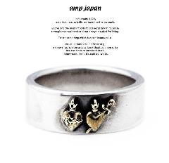 amp japan  11ah-814br heart ring